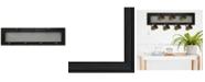 Trendy Decor 4U Trendy Decor 4U 7-Peg Mug Rack by Millwork Engineering, Black Frame Collection