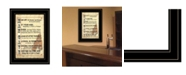 """Trendy Decor 4U Man Up by Millwork Engineering, Ready to hang Framed Print, Black Frame, 11"""" x 15"""""""
