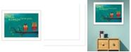 "Trendy Decor 4U Owl Always Love You By Marla Rae, Printed Wall Art, Ready to hang, White Frame, 14"" x 20"""