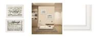 "Trendy Decor 4U Family Values 2-piece Vignette By Cindy Jacobs, White Frame, 21"" x 15"""