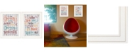 """Trendy Decor 4U The Only Person 2-Piece Vignette by SUSAn Ball, White Frame, 15"""" x 19"""""""