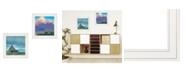 "Trendy Decor 4U Trendy Decor 4U Two Barnscapes 2-Piece Vignette by Tim Gagnon, White Frame, 15"" x 15"""