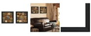 """Trendy Decor 4U Trendy Decor 4U Up North Collection By Ed Wargo, Printed Wall Art, Ready to hang, Black Frame, 21"""" x 21"""""""