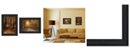 """Trendy Decor 4U Autumn Collection By Robin-Lee Vieira, Printed Wall Art, Ready to hang, Black Frame, 48"""" x 14"""""""