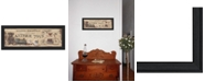 """Trendy Decor 4U Antique Toys By Pam Britton, Printed Wall Art, Ready to hang, Black Frame, 20"""" x 8"""""""
