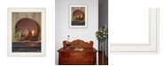 """Trendy Decor 4U The Red Basket by Susie Boyer, Ready to hang Framed Print, White Frame, 19"""" x 15"""""""