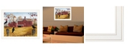 """Trendy Decor 4U Autumn Gold by Billy Jacobs, Ready to hang Framed Print, White Frame, 27"""" x 21"""""""