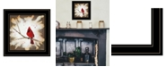 "Trendy Decor 4U Weathered Friends by Britt Hallowell, Ready to hang Framed Print, Black Frame, 15"" x 15"""