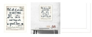 """Trendy Decor 4U Great Love by Annie LaPoint, Ready to hang Framed Print, White Frame, 14"""" x 18"""""""