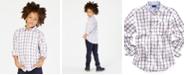 Tommy Hilfiger Check Buttondown Cotton Shirt, Big Boys