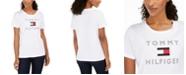 Tommy Hilfiger Cotton Flag Logo T-Shirt