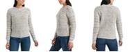 Lucky Brand Marled-Knit Crewneck Sweater