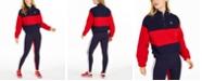 Fila Laverne Colorblocked Quarter-Zip Sweatshirt