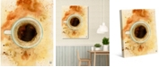 "Creative Gallery Blue Mountain Coffee Watercolor 20"" x 16"" Canvas Wall Art Print"