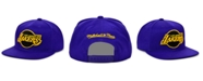 Mitchell & Ness Los Angeles Lakers Full Court Pop Snapback Cap