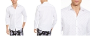 INC International Concepts INC Men's If Elias Ditsy Floral Printed Shirt, Created For Macy's