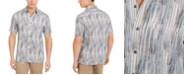 Tasso Elba Men's Abstract Stripe-Print Shirt, Created For Macy's