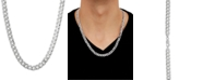 """Macy's Curb Link 22"""" Chain Necklace in Sterling Silver"""