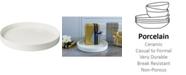 Villeroy & Boch Metro Chic Blanc Round Decorative Tray