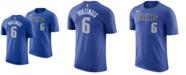 Nike Men's Kristaps Porzingis Dallas Mavericks Icon Player T-Shirt