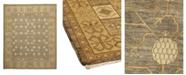 "Timeless Rug Designs CLOSEOUT! One of a Kind OOAK907 Hazelnut 8'4"" x 9'10"" Area Rug"