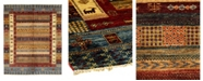 """Timeless Rug Designs CLOSEOUT! One of a Kind OOAK1146 Slate 5'10"""" x 8'4"""" Area Rug"""