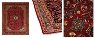 "Timeless Rug Designs CLOSEOUT! One of a Kind OOAK1499 Red 8'2"" x 12'4"" Area Rug"