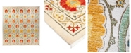 """Timeless Rug Designs CLOSEOUT! One of a Kind OOAK1792 Tangerine 12' x 12'3"""" Area Rug"""