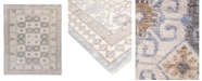 """Timeless Rug Designs CLOSEOUT! One of a Kind OOAK2030 Ivory 6'1"""" x 8'10"""" Area Rug"""