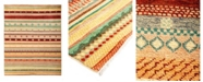 """Timeless Rug Designs CLOSEOUT! One of a Kind OOAK2830 Caramel 5'1"""" x 6'10"""" Area Rug"""