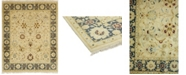"""Timeless Rug Designs CLOSEOUT! One of a Kind OOAK39 Beige 8'1"""" x 10'1"""" Area Rug"""