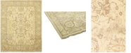 "Timeless Rug Designs CLOSEOUT! One of a Kind OOAK70 Flax 8'1"" x 9'9"" Area Rug"