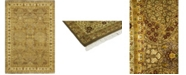 """Timeless Rug Designs CLOSEOUT! One of a Kind OOAK170 Flax 6'1"""" x 8'10"""" Area Rug"""