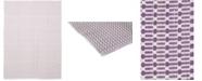 "Timeless Rug Designs One of a Kind OOAK369 Lavender 9'1"" x 12'1"" Area Rug"