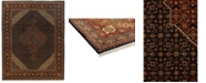 """Timeless Rug Designs CLOSEOUT! One of a Kind OOAK571 Sienna 9'9"""" x 12'7"""" Area Rug"""