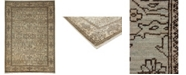 "Timeless Rug Designs CLOSEOUT! One of a Kind OOAK3608 Hazelnut 6'6"" x 9' Area Rug"