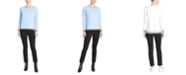 Jones New York Textured High-Low Sweater