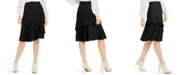 Alfani Petite Tiered Ruffled Skirt, Created For Macy's