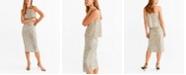 MANGO Sequin Skirt