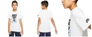 Nike Big Boys Cloud-Print Cotton T-Shirt