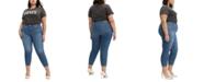 Levi's Trendy Plus Size Wedgie Skinny Jeans