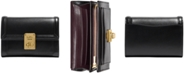 COACH Smooth Leather Hutton Wallet
