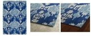 Kaleen Casual 5055-10 Denim 3' x 5' Area Rug
