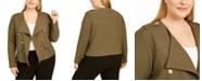 Calvin Klein Plus Size Utility Blazer