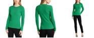 Lauren Ralph Lauren Petite Ribbed Cotton-Blend Sweater