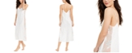 INC International Concepts INC Embroidered Sheer Side Panel Nightgown, Created For Macy's