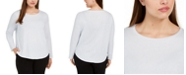 Eileen Fisher Plus Size Organic Cotton Top