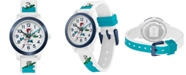 Lacoste Kid's Swiss 12.12 White Silicone Strap Watch 32mm