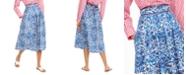 Weekend Max Mara Floral-Print Pleated Skirt