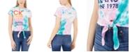 Calvin Klein Jeans Stacked Logo Tie-Dye T-Shirt